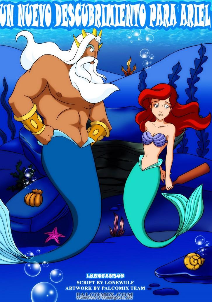 Palcomix Un nuevo descubrimiento para Ariel