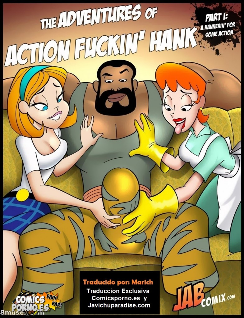 The adventures of action fuckin' hank