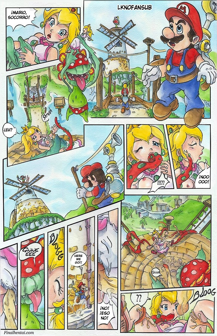 Super Mario Sunshine español