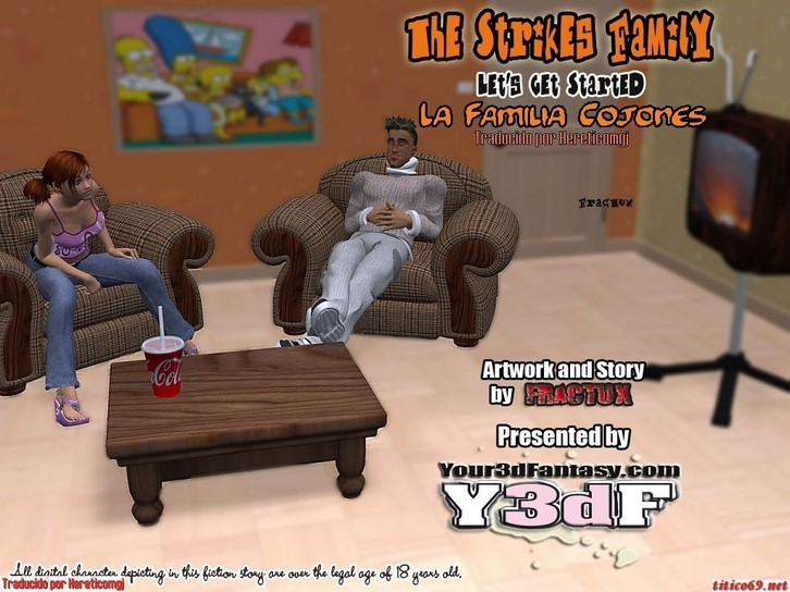 The Strikes Family Y3df Comics 3d español