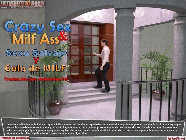 Sexo salvaje y culo de milf 3d español