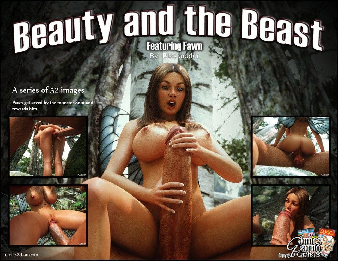 Beauty and the beast Blackadder