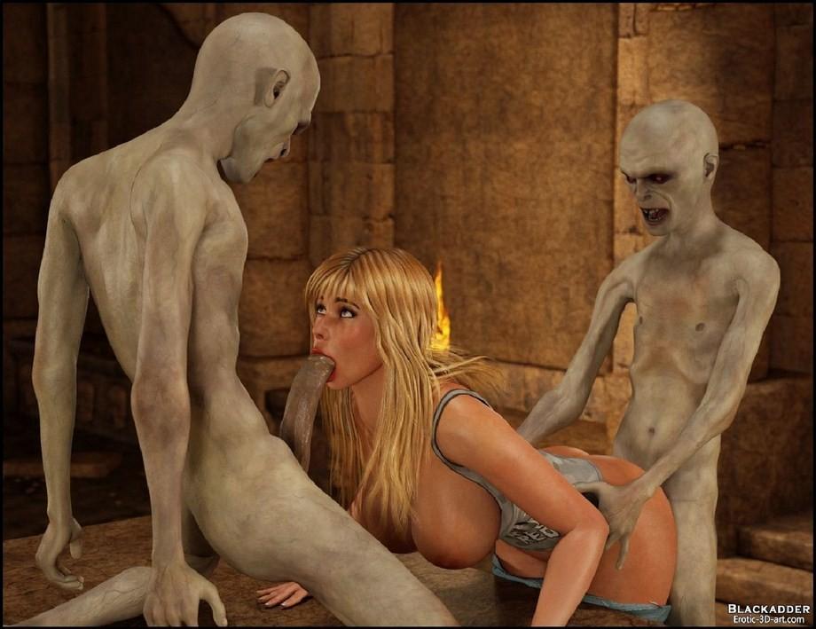 Порно видео с мумией #3