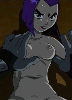 Anal Raven – Teen Titans