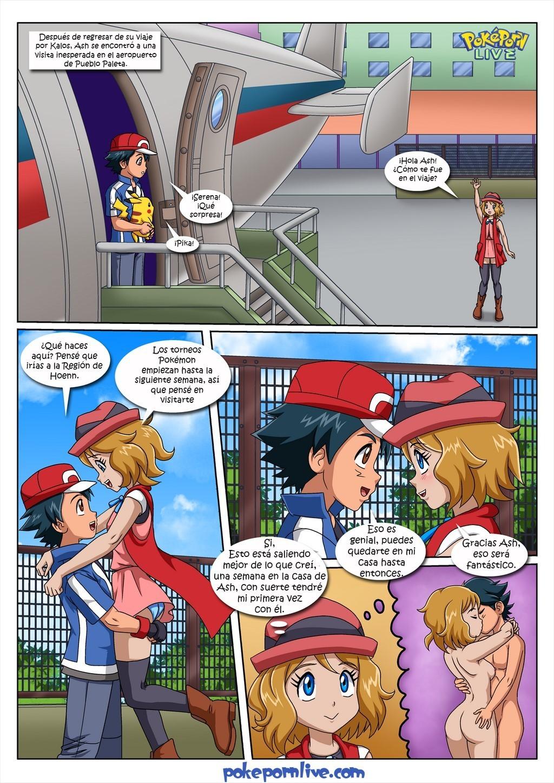 Páginas cómics porno en español Las Pokeperras De La Senora Ketchun Chochox Comics Porno