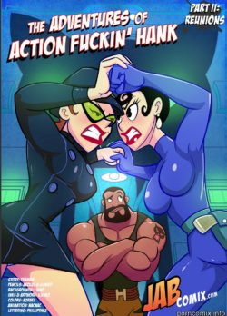 Adventures of Action Fuckin Hank 2 – Jab Comix