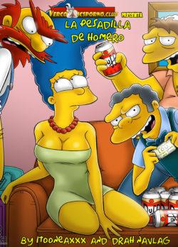 La Pesadilla de Homero – Los Simpsons