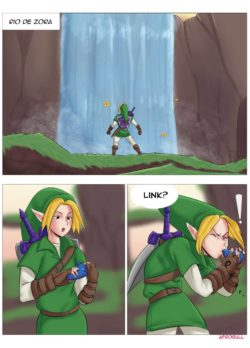 A Riverside Reunion – The Legend of Zelda