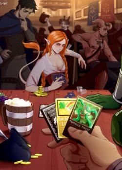 The Gambler – Horny-Oni