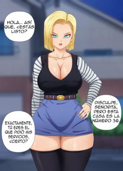 Android 18 CG – Pink Pawg