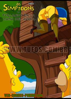 Follando en la Casa del Arbol – Los Simpsons