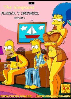 Futbol y Cerveza 1 – Los Simpsons